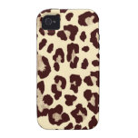Leopard Vibe iPhone 4 Cases