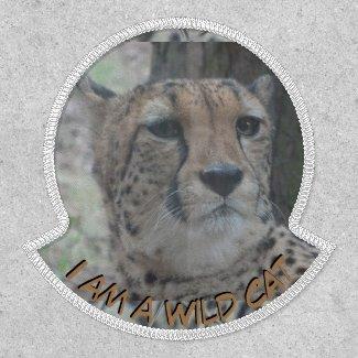 Leopard 'Wild Cat' Cust. Text Patch