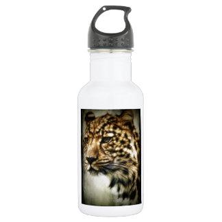 Leopard Wild Cat Spots Destiny Nature Safari 18oz Water Bottle