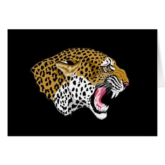 Leopard Wildlife Gift Card
