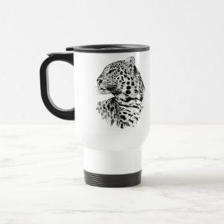 Leopard Wildlife Gift Travel Mug