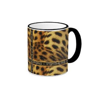 Leopard wildlife safari mugs & cups