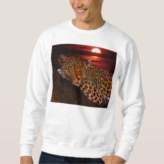 Leopard with Sunset Sweatshirt