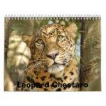 LeopardCheetaro013, Leopard Cheetaro Wall Calendar