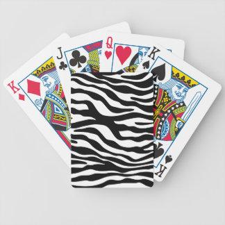 leopardo animal del guepardo del modelo del estamp baraja cartas de poker