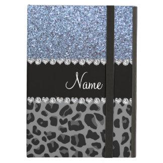 Leopardo azul en colores pastel conocido del negro