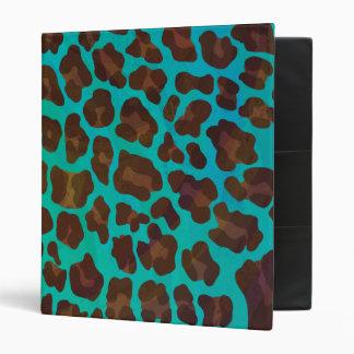 """Leopardo Brown e impresión del trullo Carpeta 1"""""""