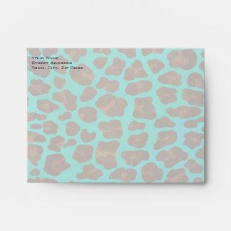 Leopardo Brown e impresión del trullo