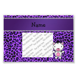 Leopardo conocido de encargo personalizado de la foto