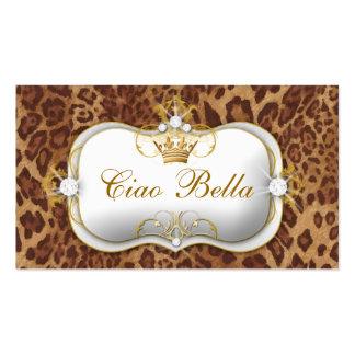 Leopardo de 311 Ciao Bella Tarjetas De Visita