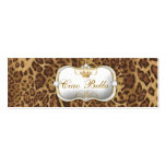 leopardo de 311-Ciao Bella Tarjeta De Visita