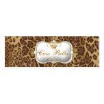 leopardo de 311-Ciao Bella Tarjetas De Visita Mini