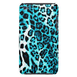 leopardo de 311 de iPod del tacto aguamarina de la iPod Touch Case-Mate Cárcasa