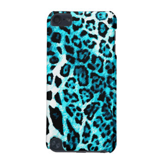 leopardo de 311 de iPod del tacto aguamarina de la Funda Para iPod Touch 5G