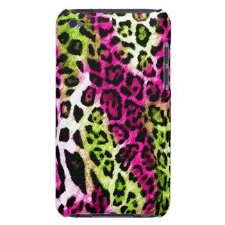 leopardo de la cal de 311 de iPod rosas fuertes de iPod Touch Coberturas