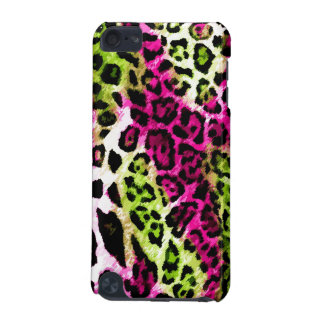leopardo de la cal de 311 de iPod rosas fuertes de Funda Para iPod Touch 5G
