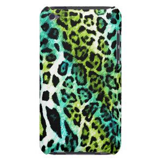 leopardo de la cal de la turquesa del tacto de 311 iPod Case-Mate carcasa