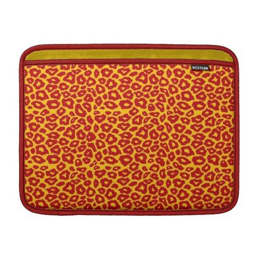 Leopardo de la MOD Fundas Para Macbook Air