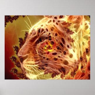 Leopardo de oro - póster