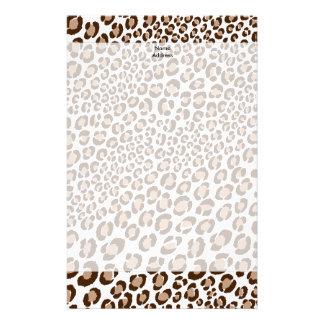 ¡Leopardo de PixDezines/color de fondo natural/diy Papeleria De Diseño
