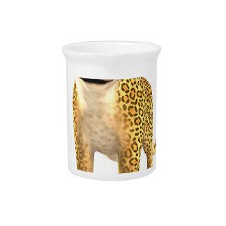Leopardo del dibujo animado jarrones