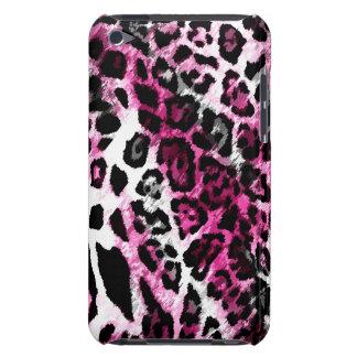 leopardo del negro de 311 de iPod rosas fuertes de iPod Case-Mate Coberturas