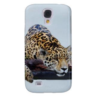 Leopardo en el árbol II Funda Para Galaxy S4