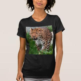 Leopardo en el salvaje camiseta
