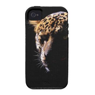 Leopardo en la casamata del iPhone 4 del proyector iPhone 4/4S Carcasas