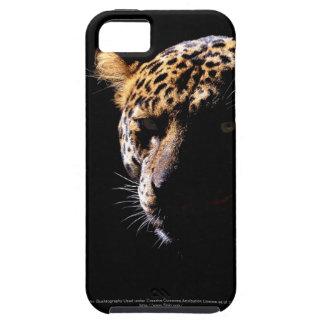 Leopardo en la casamata del iPhone 5 del proyector Funda Para iPhone SE/5/5s