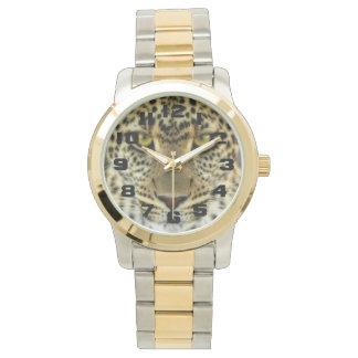 Leopardo feroz relojes