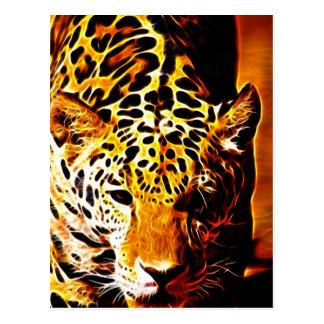 Leopardo Gotcha Postales