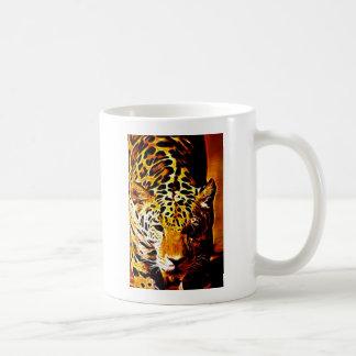 Leopardo Gotcha Tazas De Café