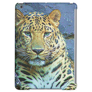 Leopardo gráfico artístico