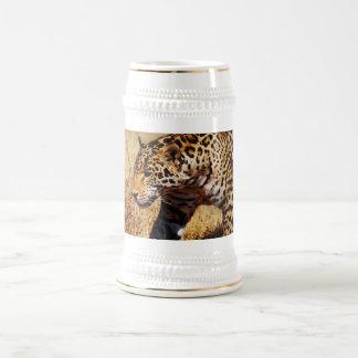 Leopardo Jarra De Cerveza