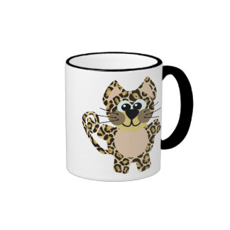 Leopardo lindo de Goofkins Tazas