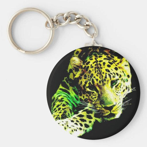 Leopardo Llaveros Personalizados