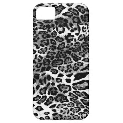 Leopardo negro 311 iPhone 5 carcasas