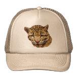 Leopardo nublado gorras de camionero