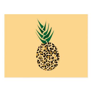 ¿Leopardo o piña? Imagen divertida de la ilusión Tarjetas Postales