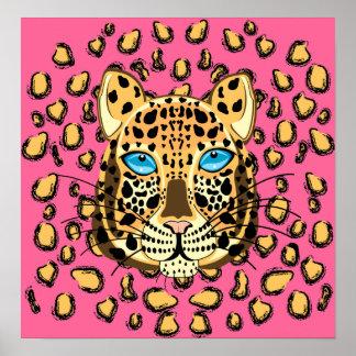 Leopardo Impresiones