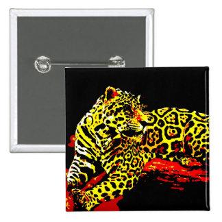 Leopardo Pin Cuadrado