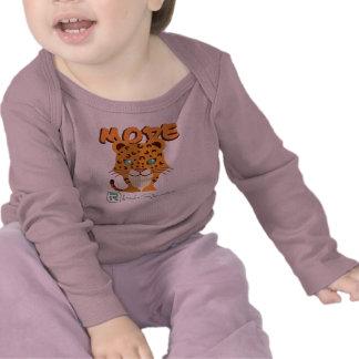 Leopardo Camisetas