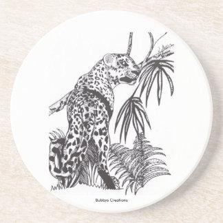 Leopardo Posavasos Diseño