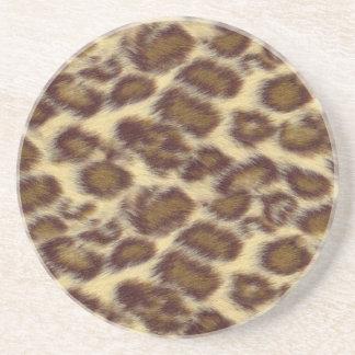 Leopardo Posavasos Manualidades