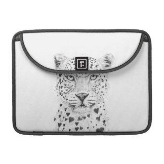Leopardo precioso funda macbook pro