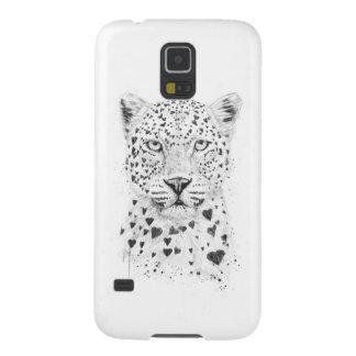 Leopardo precioso funda para galaxy s5