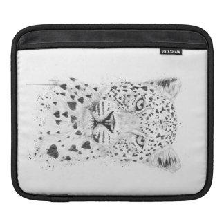 Leopardo precioso funda para iPads