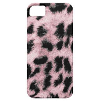 Leopardo rosado de encargo de Africankoko Funda Para iPhone SE/5/5s