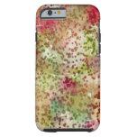 Leopardo rosado funda de iPhone 6 tough